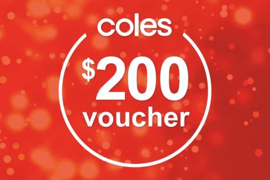 Win $200 Coles Voucher
